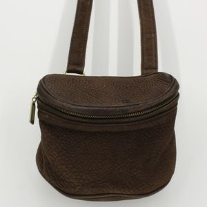 Vintage Coach Sonoma Brown Leather Crossbody